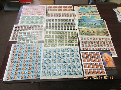 Discount Postage 32 cent full sheets, Mint NH, face value $760 Net $532.