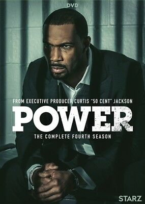 POWER TV SERIES COMPLETE FOURTH SEASON 4 New Sealed DVD