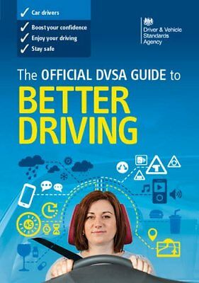 DVSA Official 2015 Guide to Better Driving Book-Driver and Vehicle Standards Age