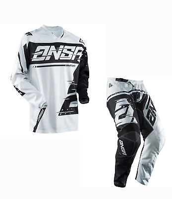 ANSWER SYNCRON mens motocross combo set,pants 38, jersey LARGE gry/blk