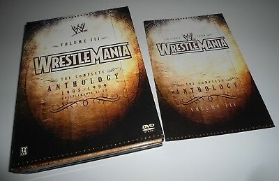 WWF/WWE Wrestlemania The Complete Anthology 1995-1999 Vol. III 3 (5 DVD Set)