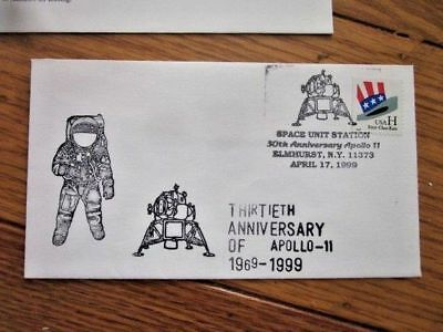 Space 30Th Anniversary Of Apollo 11 Moon Landing 1969-1999 Cover