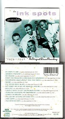 The Ink Spots Greatest Hits 1939-1946 No Holes No Scratches Very Rarely Played