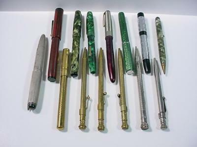 NobleSpirit NO RESERVE {3970}Coll of Vintage Fountain Pens & Mech Pencils