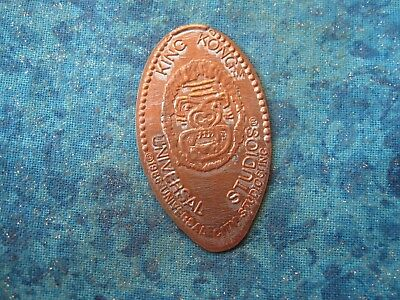 KING KONG UNIVERSAL STUDIOS Elongated Penny Pressed Smashed 24