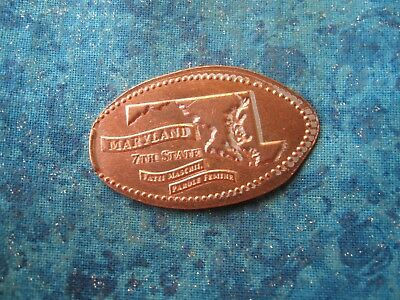 MARYLAND 7TH STATE Elongated Penny Pressed Smashed 24