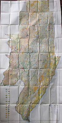 Soil Survey Map Menominee County Michigan Hermansville Powers Stephenson 1925