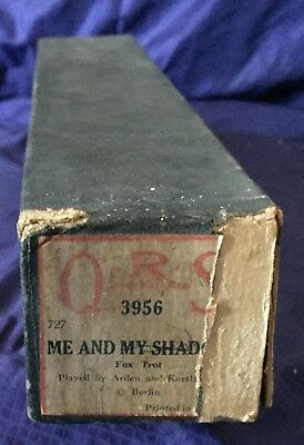 RP2725 Vtg Q.R.S. QRS Word Roll Player Piano Music Roll 3956 Me And My Shadow