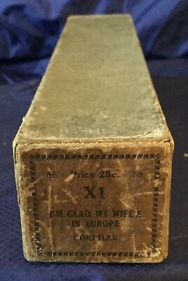 RP2732 Vtg X1 Player Piano Music Roll 88 I'm Glad My Wife's In Europe