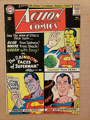 Action Comics #317 Supergirl appearance FN- (HUGE SILVER DC AUCTION)