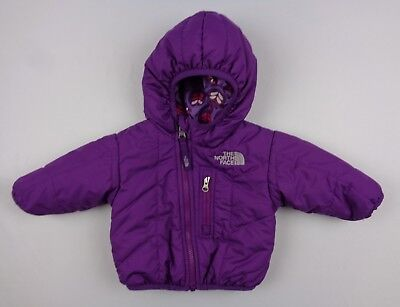 86750205a6 The North Face Infant Girls 0-3 Months Perrito Reversible Insulated Jacket  AUVC