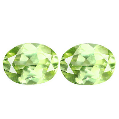 1.36Ct Amazing Oval cut 6 x 5 100% Natural Rare Parrot Chrysoberyl