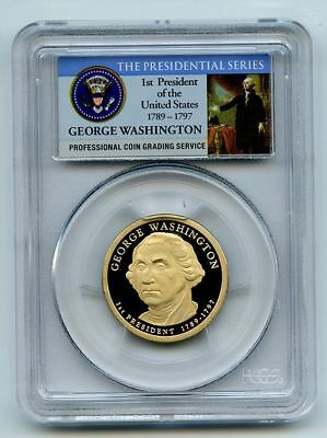 2007 S $1 George Washington Dollar PCGS PR70DCAM
