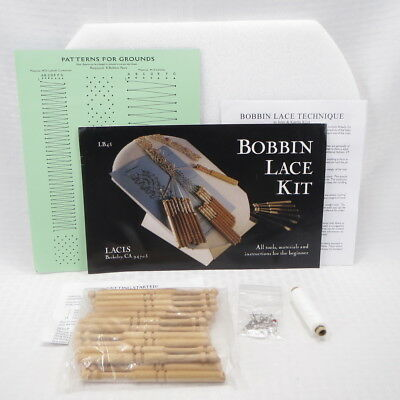 BOBBIN LACE KIT by LACIS - NEW IN OPENED BAG
