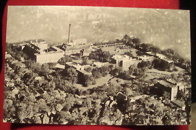 vintage-rppc b&w, henry ford hospital aerial view, unposted, nice!! michigan