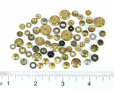 Assorted Used Clock Hand Nuts - For German Clocks - Oh872