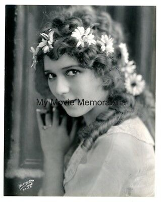 Rare Mary Pickford Vintage 1919 Dblwt Hartsook Master Print Photo Her Collection