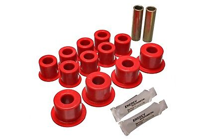 Energy Suspension 14.2102R Leaf Spring Bushing Set Fits 87-93 Trooper
