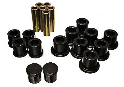 Energy Suspension 5.2119G Leaf Spring Bushing Set Fits 94-02 Ram 2500 Ram 3500