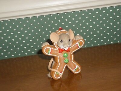 Charming Tails-Gingerbread Cookie-New In Box-2017