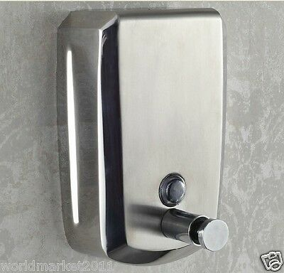 Stainless Steel 1000ML Manual Induction Soap Dispenser Hand Sanitizer Machine