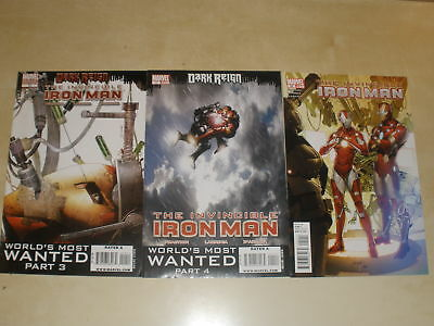 Marvel INVINCIBLE IRON MAN 10 VARIANT 11 29 LOT OF 3 PEPPER AS RESCUE