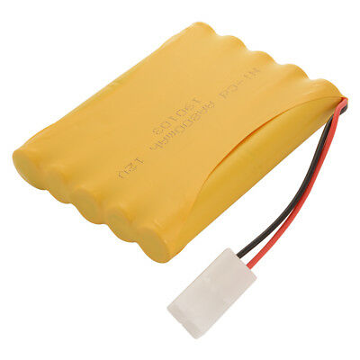 12V 800mAh Ni-Cd AA Flat Rechargeable Battery Spare Pack with KET-2P Plug BC802