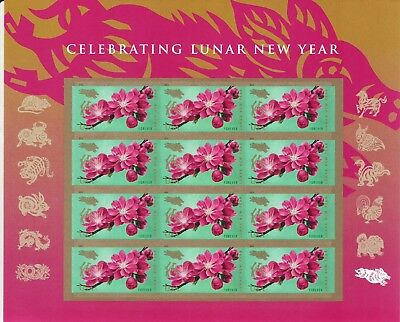 Chinese New Year Stamp Sheet -- Usa #5340 Forever 2019 Year Of The Boar