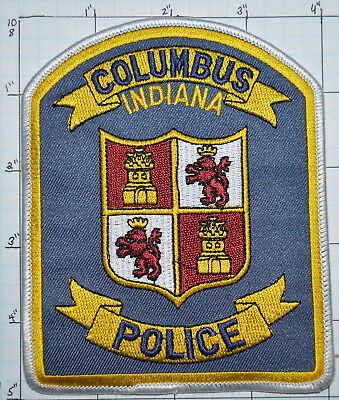 Indiana, Columbus Police Dept Patch