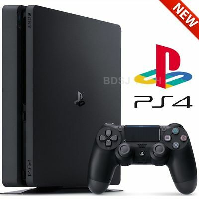 PlayStation 4 Slim (1TB) - PS4 Game Console w/ Controller - Black
