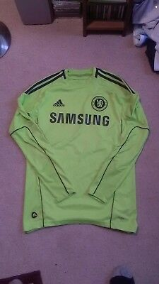 Chelsea Football Shirt Goalkeeper (Small Adult)