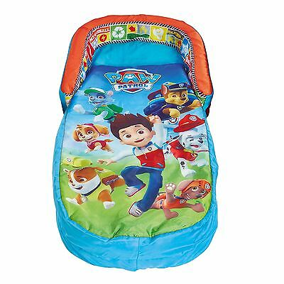 Paw Patrol Kids My First Ready Bed Inflatable Includes Pump Fully Portable New