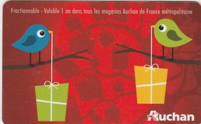 CARTE CADEAU  - ##  AUCHAN   ##  (FRANCE) Gift card