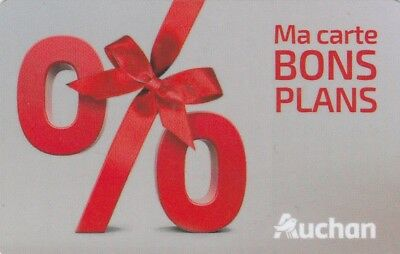 CARTE CADEAU  GIFT CARD -  AUCHAN  100 eu   ( FRANCE )