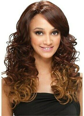 Model Model Synthetic Natural Part Lace Front Wig - Janel
