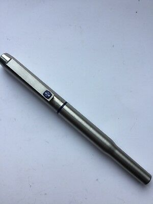 Parker Ball Point Pen Brushed Silver