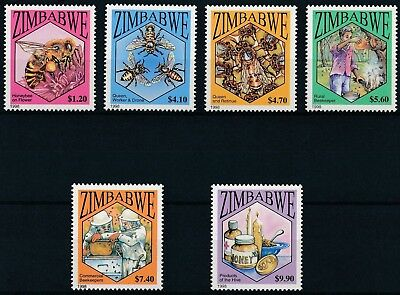 [H15942] Zimbabwe 1998 BEES - Insects - Fauna Good set of stamps very fine MNH