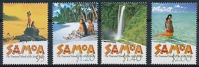[H16264] Samoa 2002 TOURISM Good set of stamps very fine MNH
