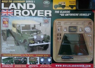 Build The Legendary Series 1 Land Rover Replica Build Kit No I Issue 790 Mm Size