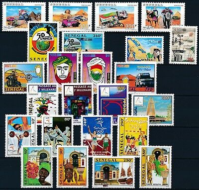 [H16487] Senegal 2001 THEMATICS Good lot of stamps very fine MNH