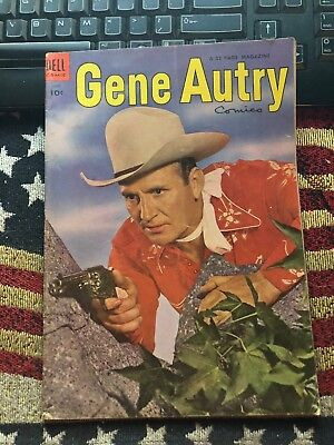 Gene Autry Comics # 88 1954 Western Dell Golden Age Comic Book Wheaties Ad