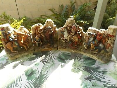 Custer's Last Stand or Battle of Little Big Horn  Decanter Set