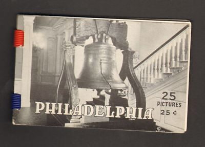 Undated Travel Souvenir 25 Photographs Philadelphia Pennsylvania PA