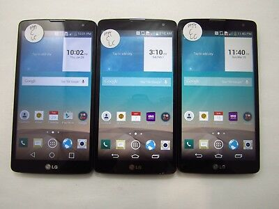 Lot of 3 LG G Vista D631 ATT Check IMEI Fair Condition 5-837