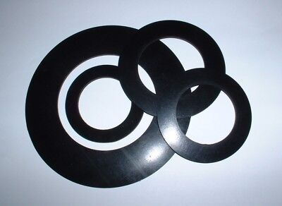 3Mm Thick 56Mm To 150Mm Od Flat Ring Epdm Circular Rubber Washer Gaskets Seals