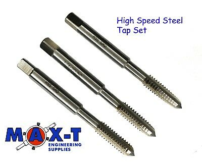 Lots 1pc HSS Machine 12-24 UNC Plug Tap and 1pc 12-24 UNC Die Threading Tool