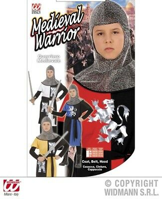 Boys Medieval Warrior Costume Outfit for St George Knight Medieval Fancy Dress