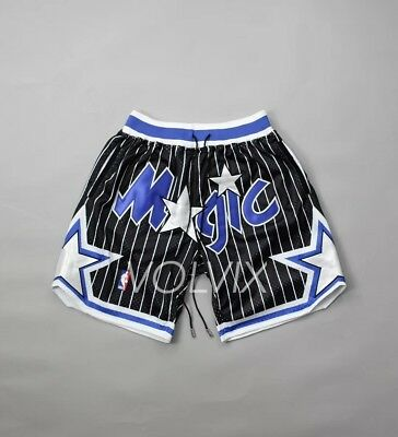 e8eb1781291 Just Don Mitchell And Ness Vintage Orlando Magic Black Shorts 94 95 S M L  Xl Xxl