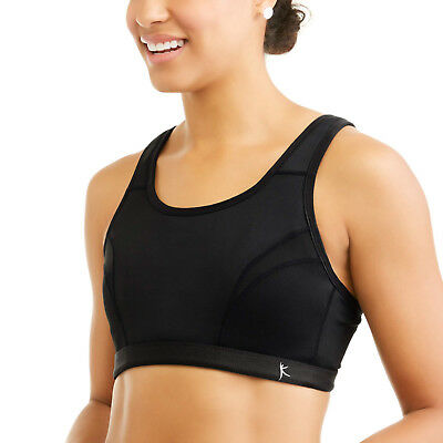 110ee443ee5ac NEW Danskin Now Black Secret Support High Impact Wire Free Sports Bra Size  Small