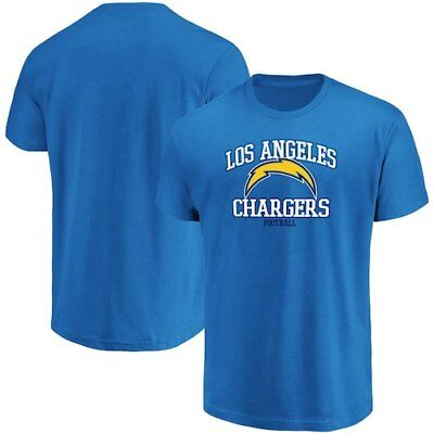 Men's Majestic Blue Los Angeles Chargers Greatness T-Shirt
